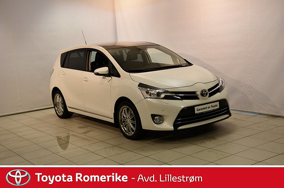 Toyota Verso 1,8 VVT-i Executive Multidrive S 7s  2014, 53174 km, kr 260000,-