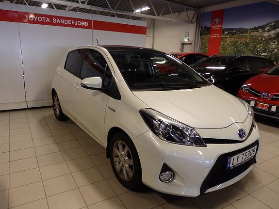 Toyota Yaris 1,5 Hybrid Style  2013, 21500 km, kr 179000,-