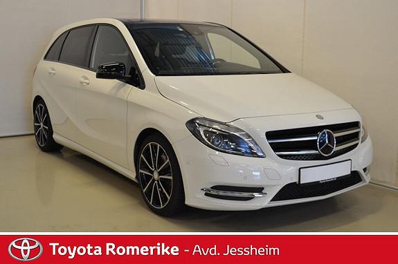 Mercedes-Benz B-Klasse B 180 CDI BlueEfficiency Eksklusiv aut. Glasstak/soltak  2013, 39900 km, kr 259000,-
