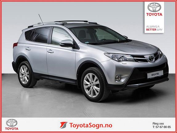 Toyota RAV4 2,2 D-4D 4WD Exective SKINN, HENGERFESTE  2013, 35000 km, kr 329000,-