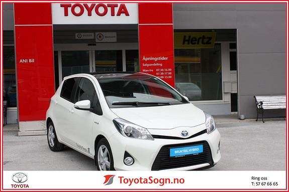 Toyota Yaris 1,5 Hybrid Style + e-CVT aut  2014, 50003 km, kr 169000,-