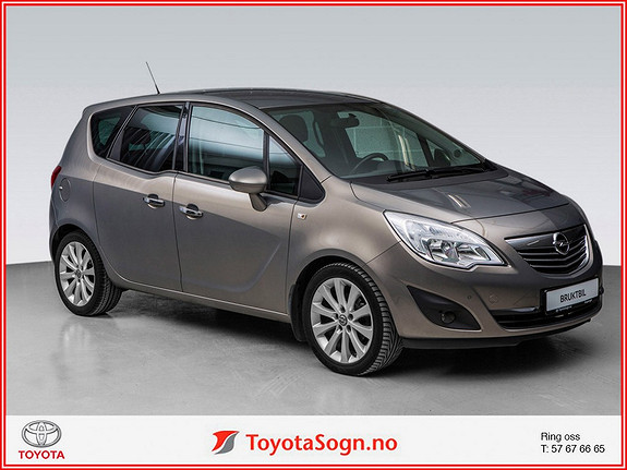 Opel Meriva 1,4 turbo 120hk Cosmo ny  2010, 107700 km, kr 104000,-