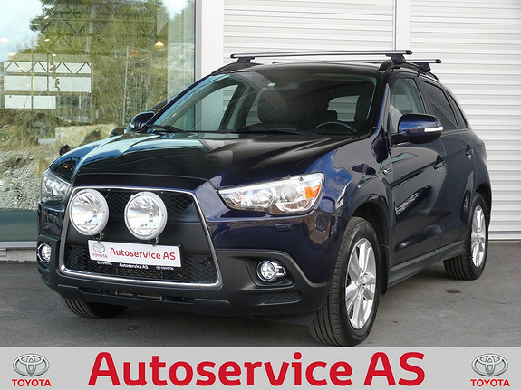 Mitsubishi ASX Instyle+ 1.8-116 ClearTec  2011, 107000 km, kr 189000,-