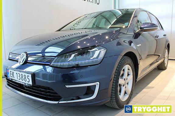 Volkswagen Golf E-GOLF 115 HK Varmepumpe, Ryggekamera, Skinn, Keyless,