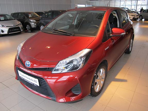 Toyota Yaris 1,5 Hybrid Active DAB+  2013, 19000 km, kr 169000,-