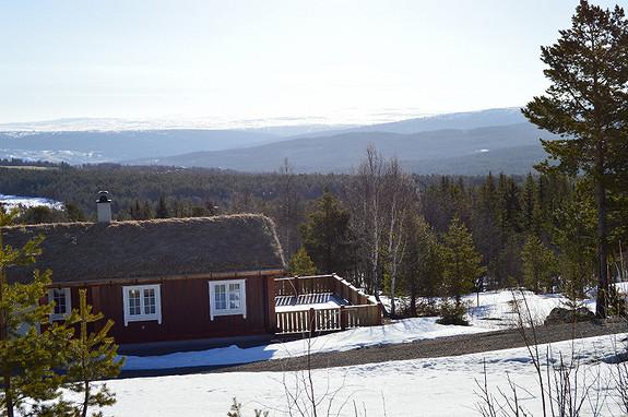 Flotte tomter i Pøta hyttegrend, i nærheten av oppkjørte skiløyper
