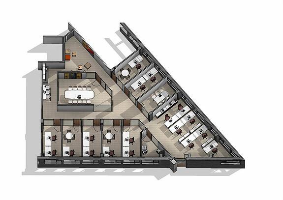 Ledig lokale i 5. etasje. 356 m2.
