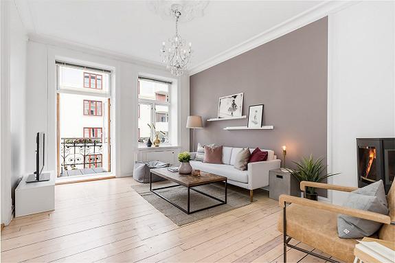 3-roms leilighet - St. Hanshaugen-Ullevål - Oslo - 5 900 000,- Nordvik & Partners