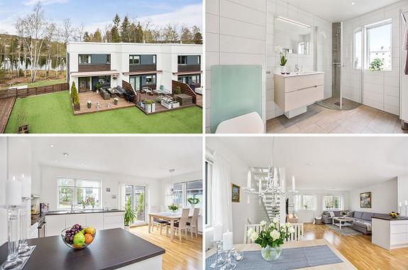 5-roms rekkehus - Fjellhamar - 5 950 000,- Nordvik & Partners