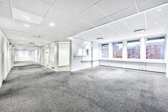 Lyse kontorlokaler på Skøyen