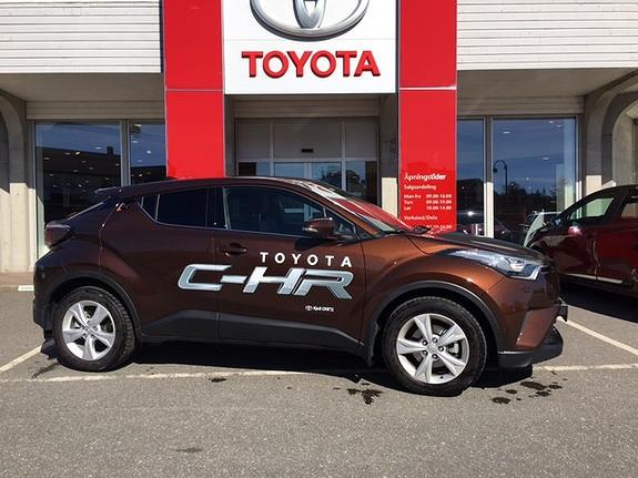 Toyota C-HR 1,2T Supreme Tech 4WD aut m/ Navi, lakkforsegling, DEMO  2017, 2921 km, kr 399000,-