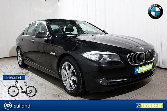 BMW 5-serie 520d En eier-BiXenon-PDC-Norsksolgt-Lav kilometerstand