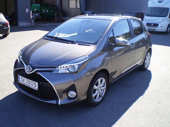 Toyota Yaris Style  2016, 8900 km, kr 231473,-