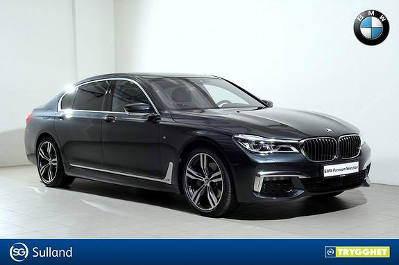 BMW 7-serie 730Ld xDrive - Norsk - Alt utstyr - Videreleasing mulig