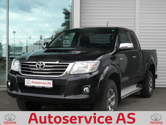 Toyota HiLux D-4D 144hk Extra Cab 4WD SR  2014, 29000 km, kr 339000,-