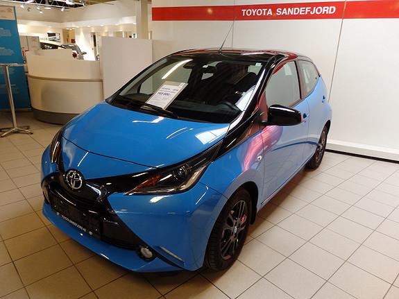 Toyota Aygo 1.0VVT-i X-CITE  2016, 9500 km, kr 165000,-