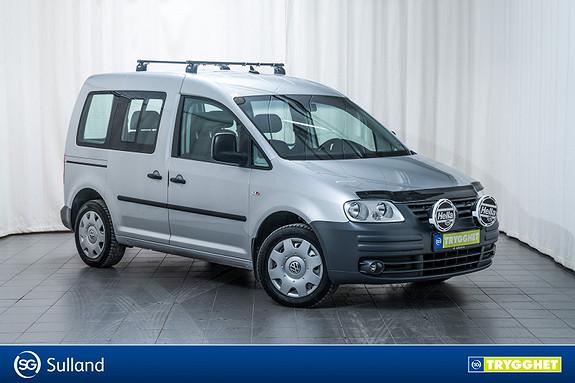 Volkswagen Caddy Life 1,9 TDi 105hk 5-seter