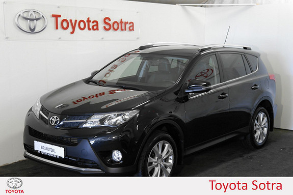 Toyota RAV4 2,2 D-CAT 4WD Exective aut  2014, 89514 km, kr 339000,-