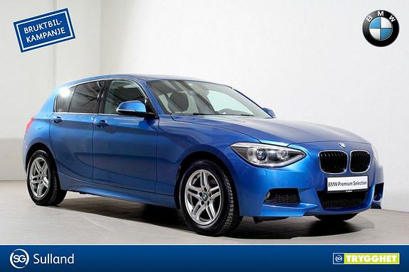 BMW 1-serie 116i Advantage Edition aut -Mpakke-Xenon-Sensorer-DAB+-
