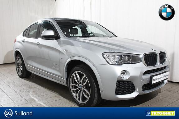 BMW X4 xDrive20i aut M-Sport-Skinn-Navi-Bensinvarmer-krok-DAB+