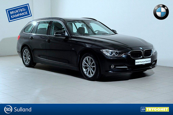 BMW 3-serie 316i Touring aut -SportLine-Lyspakke-DAB+-Hengerfeste-N