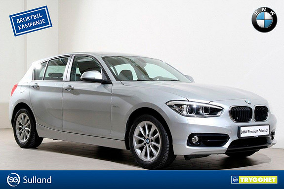 BMW 1-serie 116i -SportLine-DAB+-LED-Bluetooth-PDC-Norsk++
