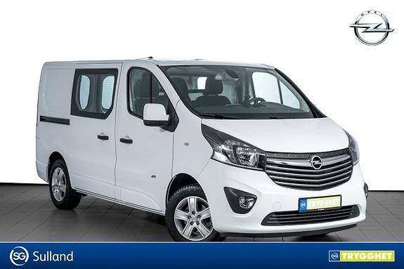 Opel Vivaro 1,6 BiTurbo 120hk Mester Premium L1H1 PARKVARMER-NAVI++