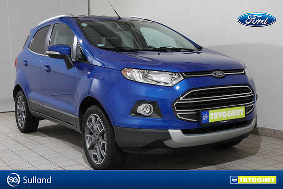 Ford Ecosport 1,0 125hk Titanium Navigasjon og DAB+ radio