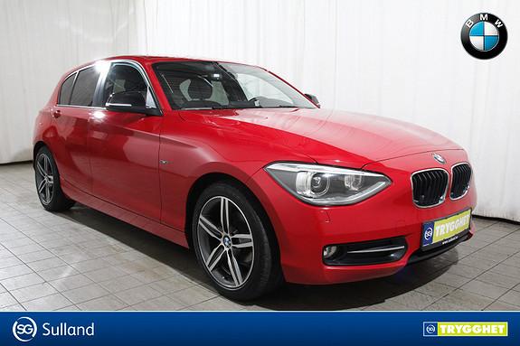 BMW 1-serie 116d aut Norsk-Fj.lystaut-Blåtann-Xenon-Sportseter etc