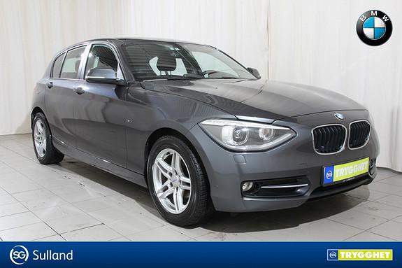 BMW 1-serie 116d Sport line, dab+, 1 eiers bil, ny i Norge