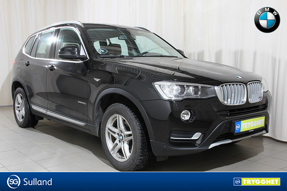 BMW X3 xDrive20i aut Navi, el.hengerfeste, ryggekamera, dab+