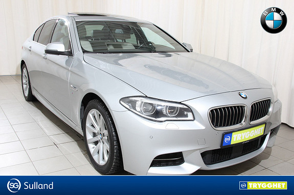 BMW 5-serie 530d xDrive aut Msport,hengerfeste,soltak,navi,ryggekam