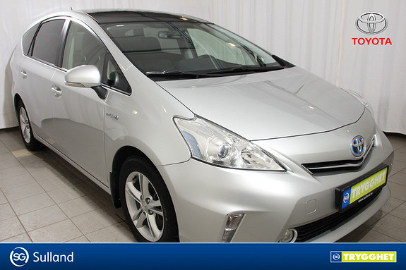 Toyota Prius+ Seven 1,8 VVT-i Hybrid Executive Skyview 7 seter