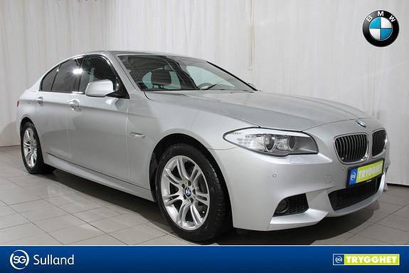 BMW 5-serie 520d 163hk Automat  M Sport, Navigasjon,