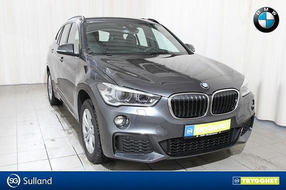 BMW X1 xDrive18d 150hk aut Hengerfeste,ledlys,navi,ryggekamera