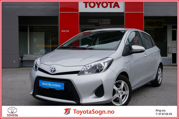 Toyota Yaris 1,5 Hybrid Active  2014, 36443 km, kr 155000,-