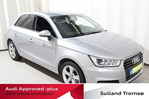 Audi A1 Sportback 1,4 TDI 90hk Sport 5 Dørs/Lav.km/Mye utstyr++