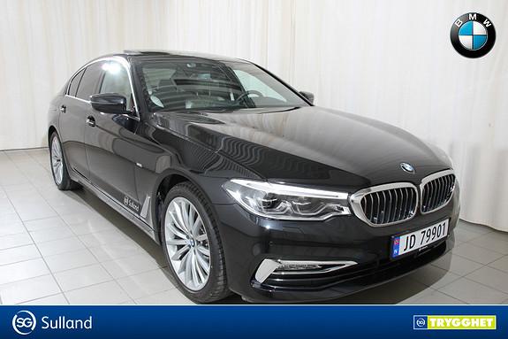 BMW 5-serie 520d xDrive NY 190hk aut Luxury Line. Se utstyr!