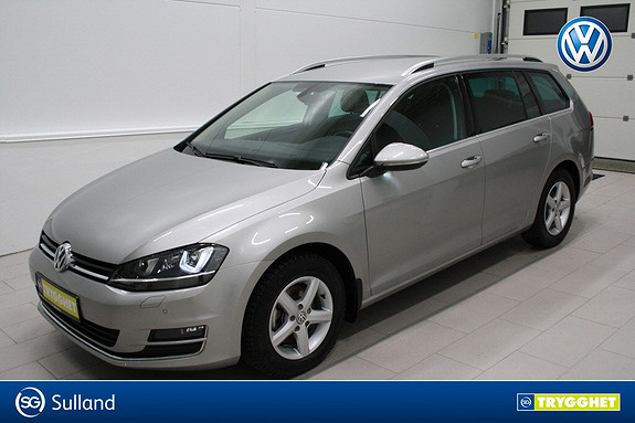Volkswagen Golf 1,6 TDI 110hk Highline 4MOTION Klima,cruise,webasto,DAB