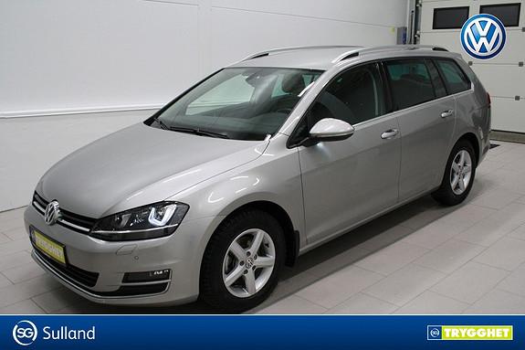 Volkswagen Golf 1,6 TDI 110hk Highline 4MOTION Klima,cruise,webasto,DAB