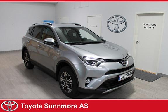 Toyota RAV4 Hybrid AWD Active Style VELHOLDT**LAV KM**NYBILGARANTI*  2016, 2400 km, kr 475000,-
