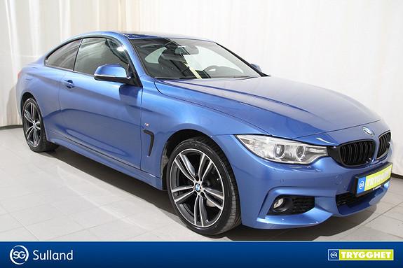 BMW 4-serie 420d xDrive Coupé 163hk aut M-Sport/Navi/Serviceavtale