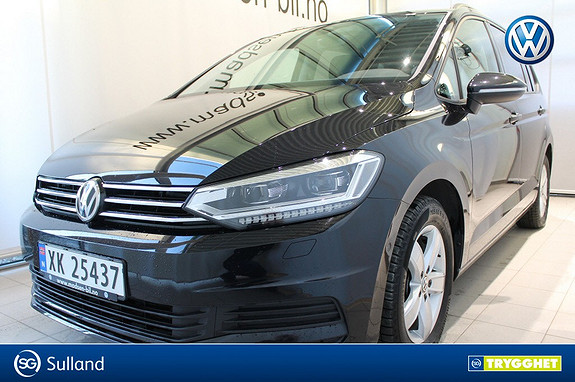 Volkswagen Touran 1,6 110 TDI Businessline HENGERFESTE, CRUISE, 7-SETER,