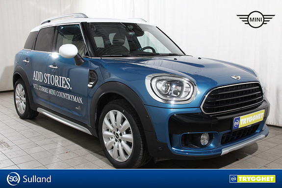 MINI Countryman Cooper D ALL4 aut Skinn-Act.cruise-act.LED-Nav-Comf.acc