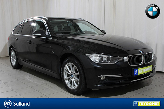 BMW 3-serie 320d xDrive 163hk aut Automat,4hjulstrekk,navigasjon,el