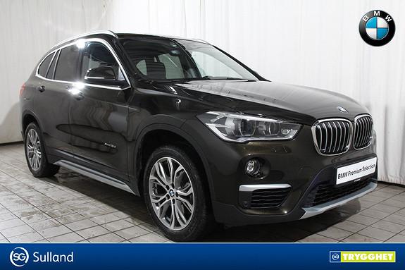 BMW X1 xDrive18d 150hk aut Act.Cruise-act.LED-Krok-Comf.acc