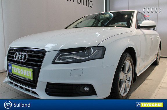 Audi A4 2,0 TDI 143 hk multitronic HENGERFESTE, BI-XENON, RYGGE