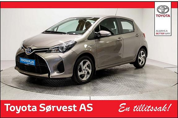 Toyota Yaris 1,5 Hybrid Active e-CVT Strøken bil  2015, 25976 km, kr 189000,-