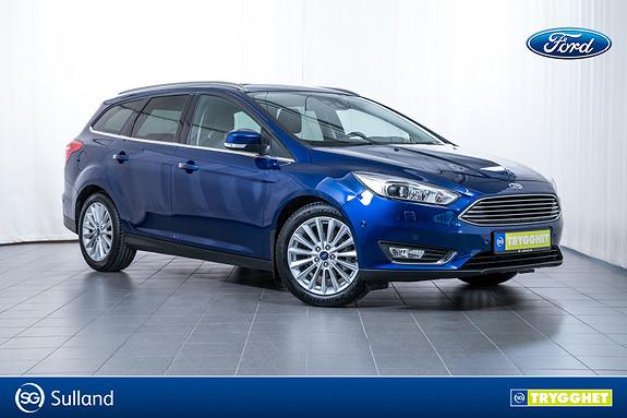 Ford Focus 1,0 EcoBoost 125hk Titanium X Sjekk ustyret på denne!!