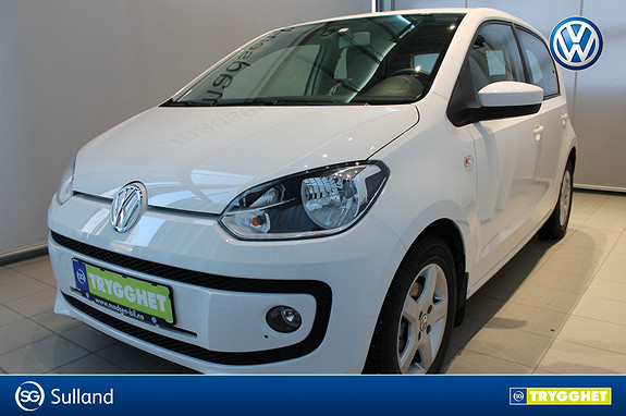 Volkswagen UP! 1,0 60hk BMT High up! **LAV KM** NAVIGASJON, BLUETOOTH,